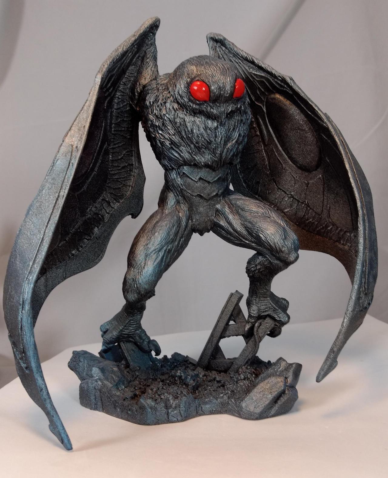 Monster Museum Specimen #1: Mothman