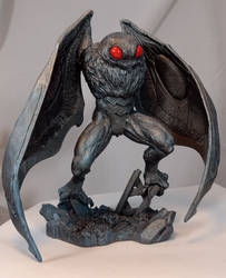 Monster Museum Specimen #1: Mothman