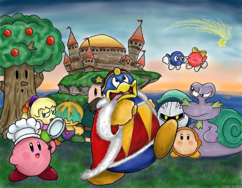 Kirby Kirby Kirby by CartographerCaitlin
