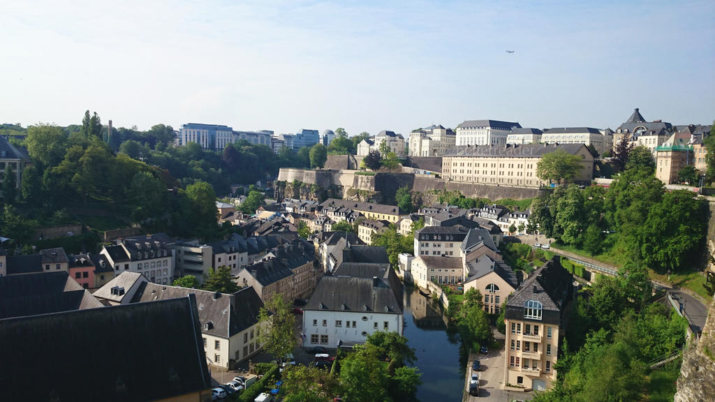 Luxembourg City by betterreader