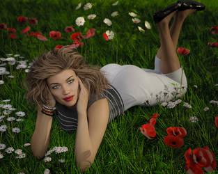 Calendar Girl - May by frillynikki