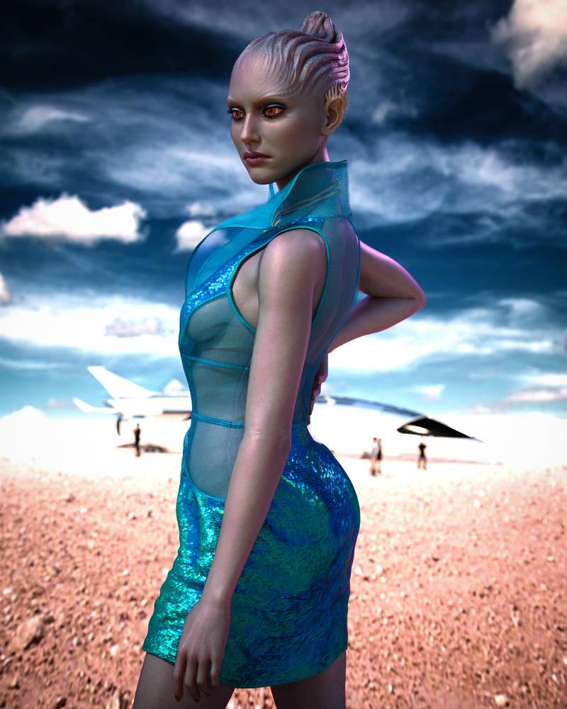 Alien Beauty Neeya