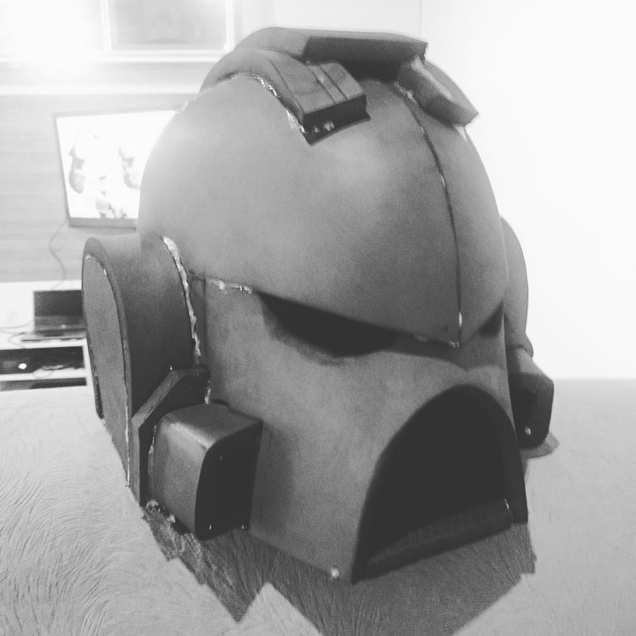Warhammer 40k Space Marine - Helmet - Part 5 by Marthendal