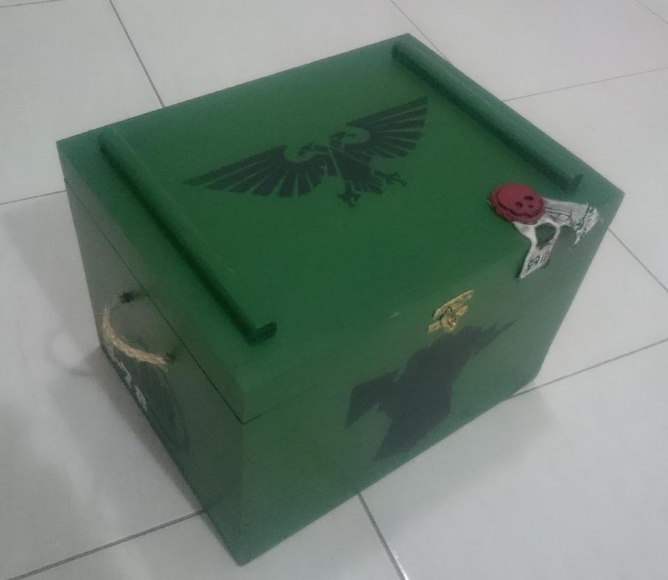 Warhammer 40k - Ammo box - Final by Marthendal