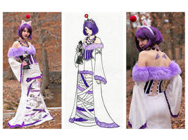moogle Lulu costume by vampirate777