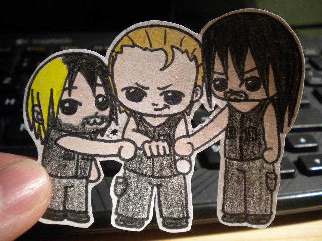 The Shield Chibi by CelticFire7