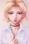 Akagi Ritsuko (young)