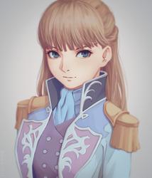 Relena Peacecraft by miura-n315