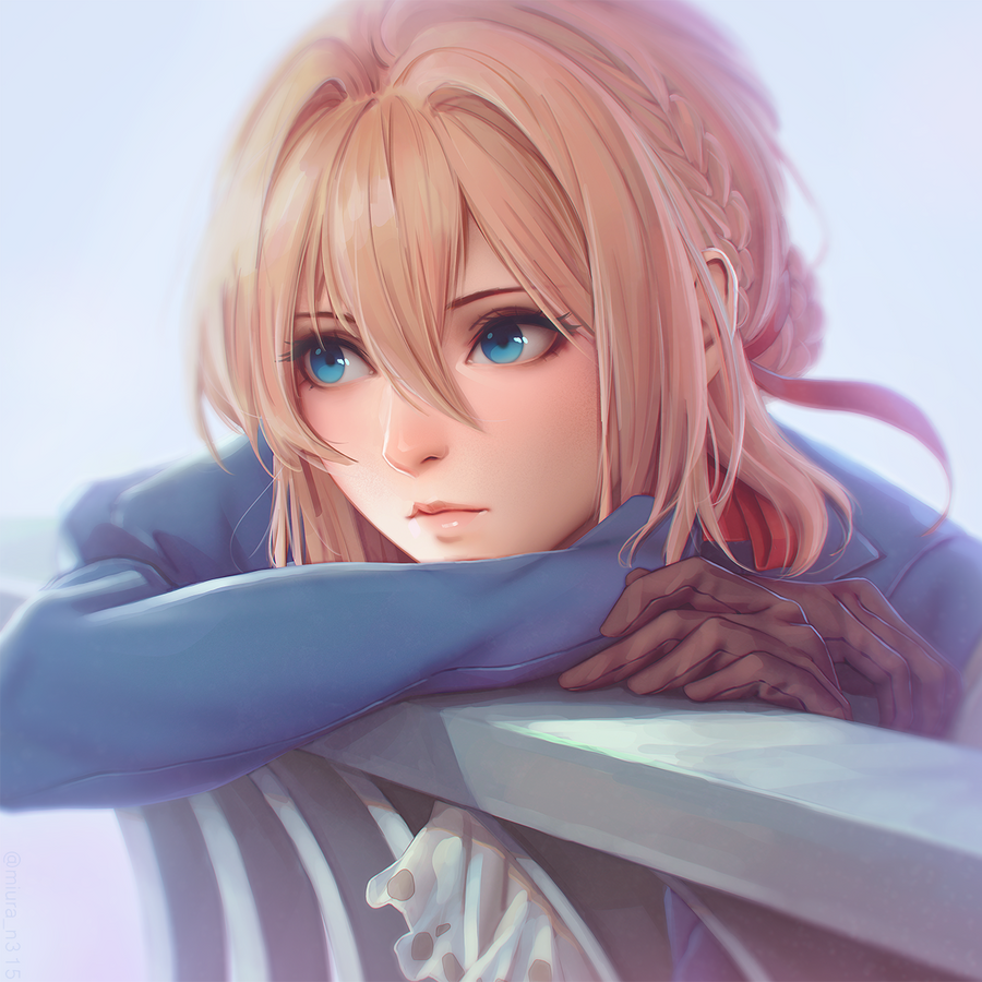 Violet Evergarden By Miura-n315 On DeviantArt