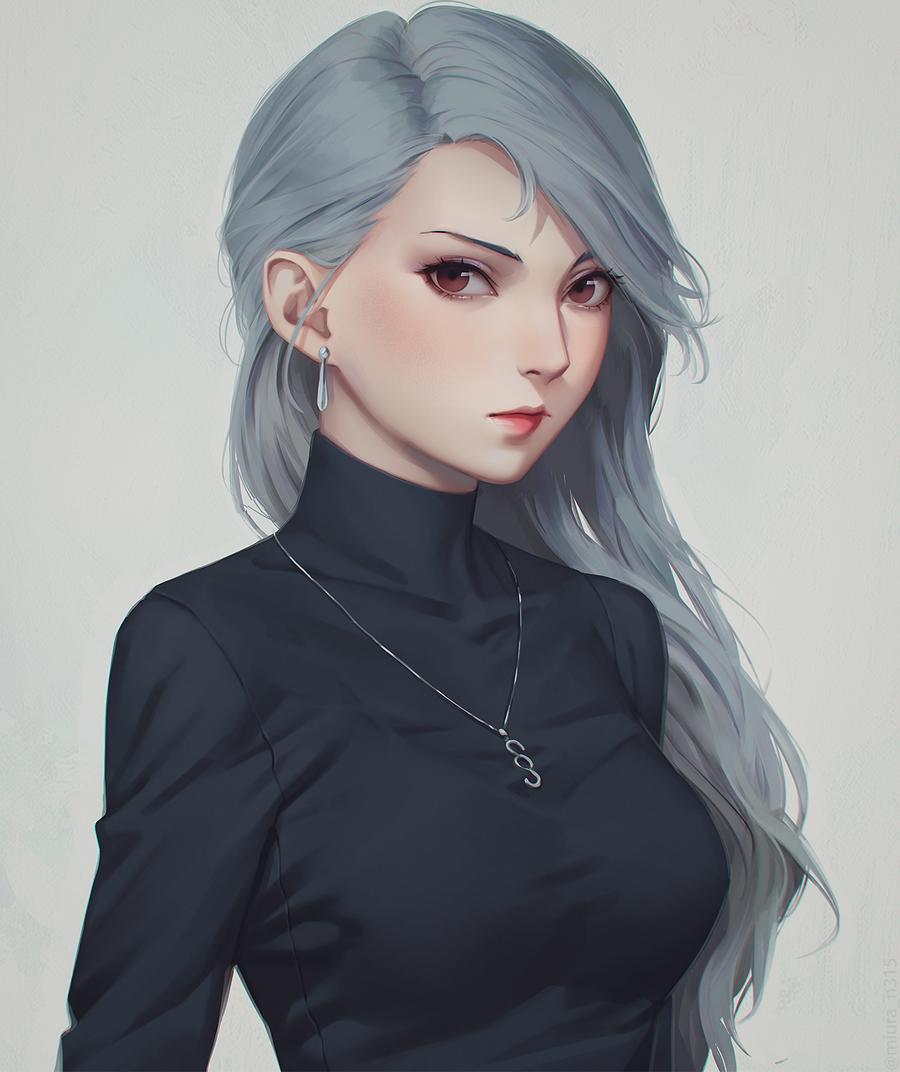 Niijima Sae by miura-n315