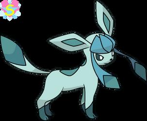 Pokemon Base 37: Glacion by StarlineSparkle896