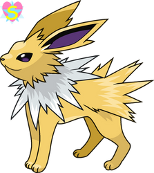 Pokemon Base 40: Jolteon by StarlineSparkle896