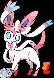 Pokemon Base 41: Sylveon by StarlineSparkle896