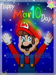 Happy Mar10 Day (2019) by StarlineSparkle896