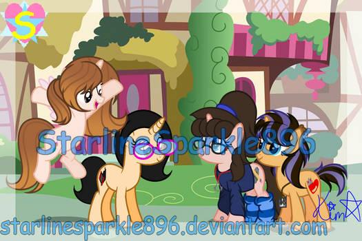 My Ponysona Friends