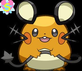 Pokemon Base 61: Dedenne