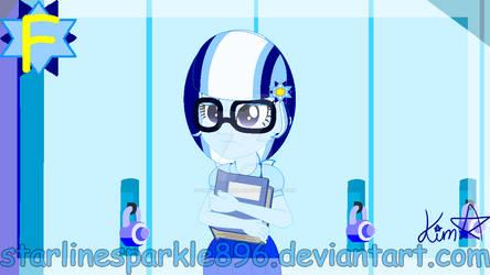 (MLP EG F8) Human Flakestar Starkle in her school