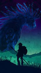Mononoke in the Night by Maylise-art
