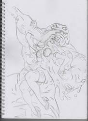 Feastin On Gleason (WIP) by Psychoboy07