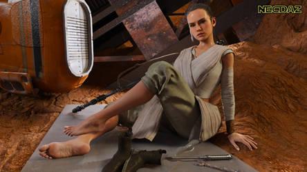 Bonus Monthly Render: Rey the Scavenger