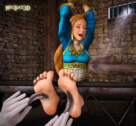 Monthly Render: Zelda Tickled