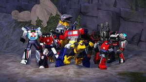 8 Autobots Wallpaper SFM