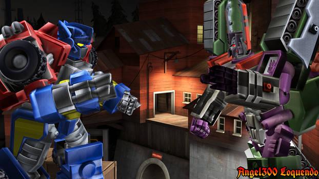 Optimus vs Megatron Transformers Armada