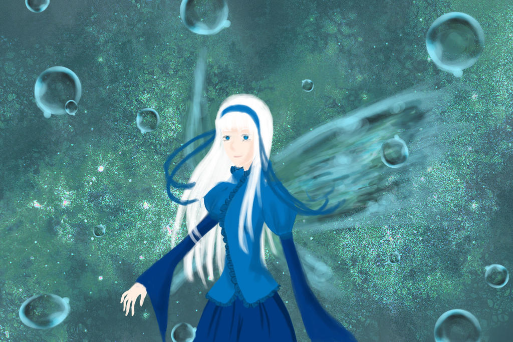 Water Wizard Art