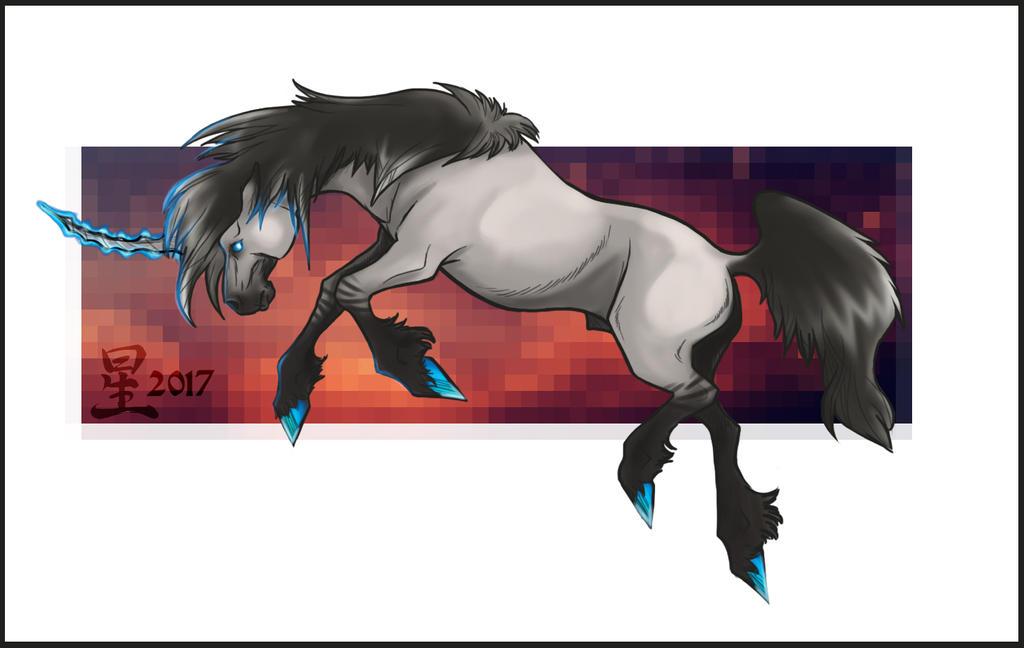Grulla Unicorn by AlphaWoof