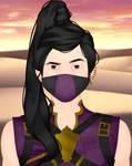 Mortal Kombat: Rain by Jaz-Merigold