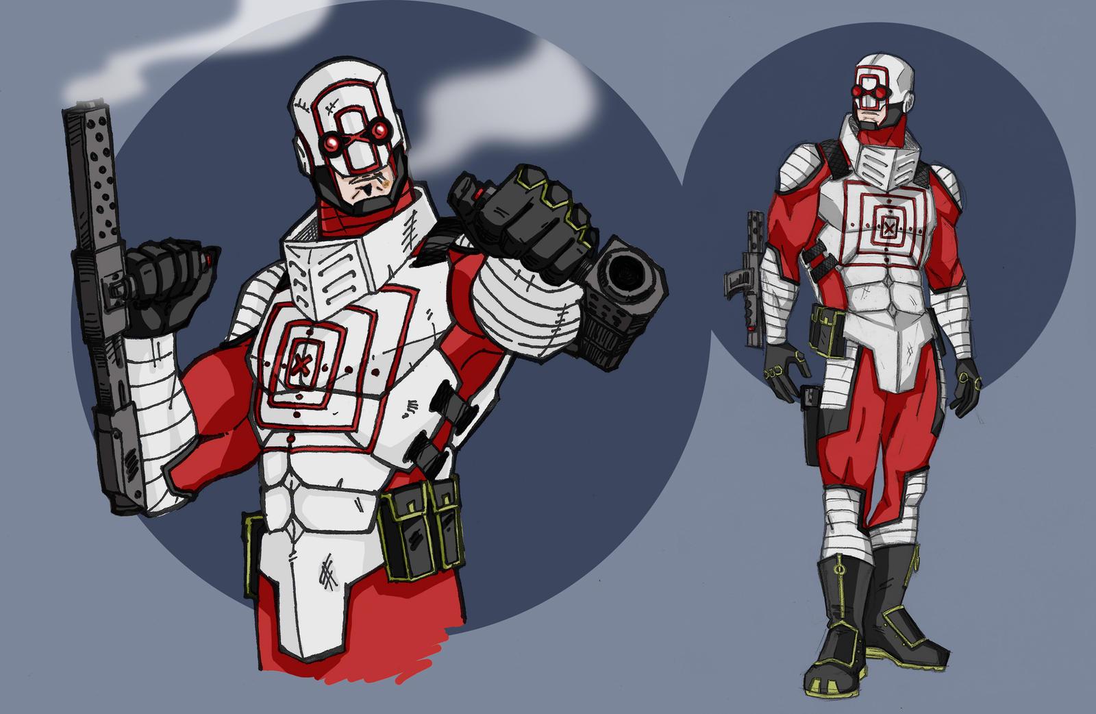 Deadshot Redesign Deadshot by DannyIndee...