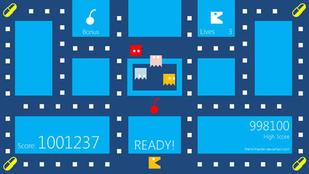 Metro UI Pac Man by thenonhacker