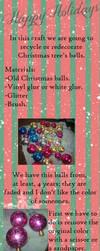 Christmas Recycling Tutorial by MizaoRocks