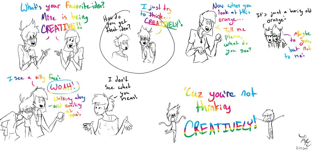 LET'S GET CREATIVE! by HugaDuck