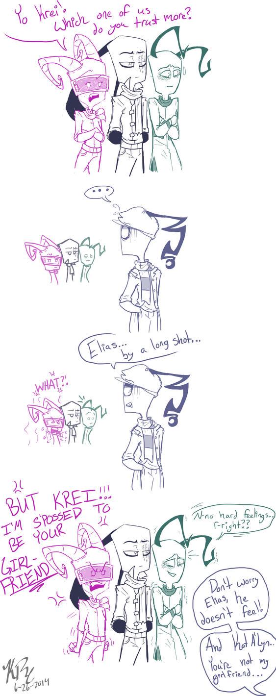 Betrayal by HugaDuck