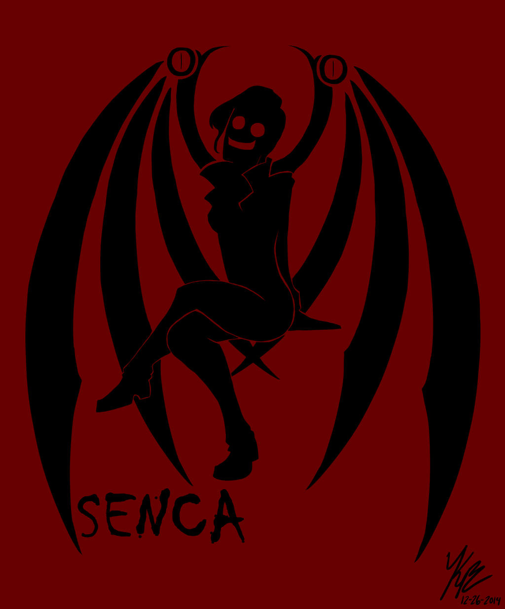 Senca Silhouette by HugaDuck