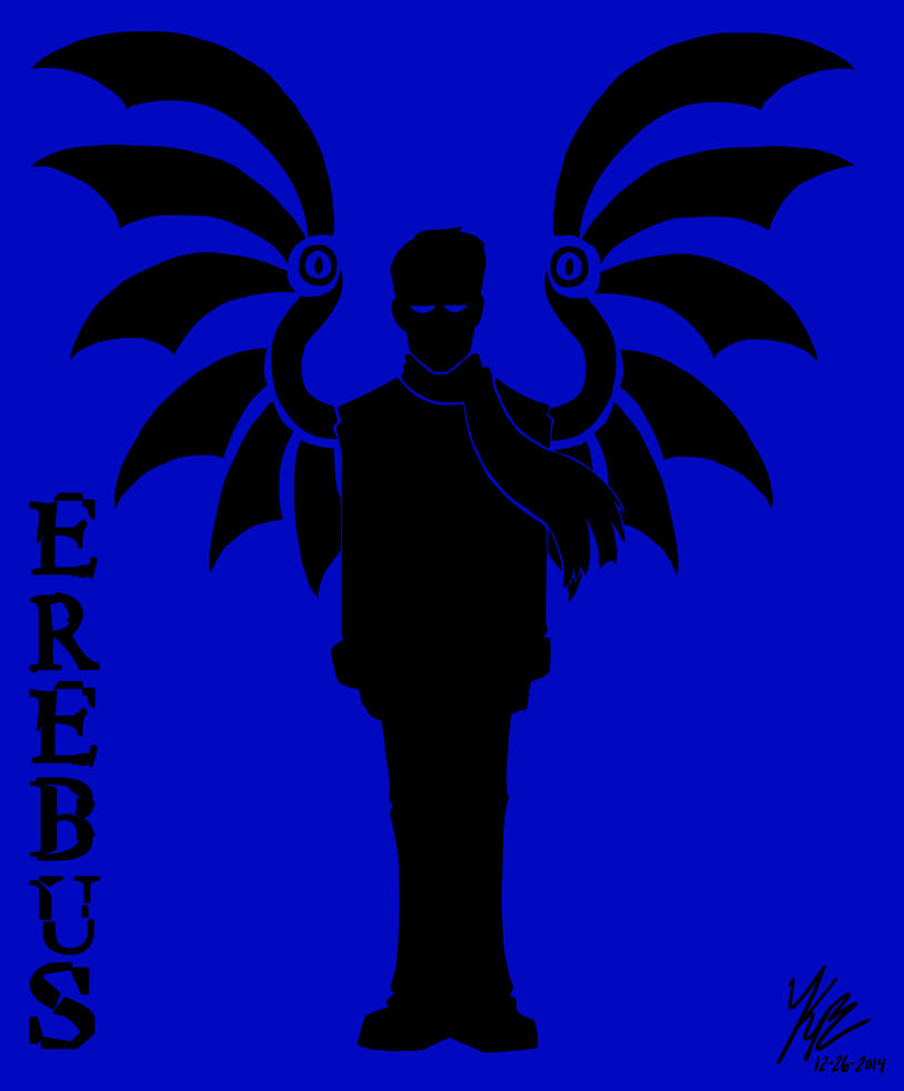 Erebus Silhouette by HugaDuck