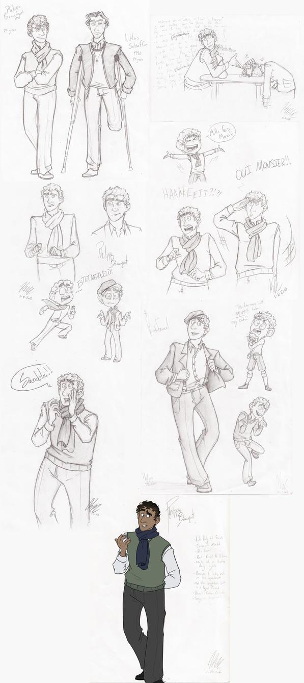 Character Development by HugaDuck