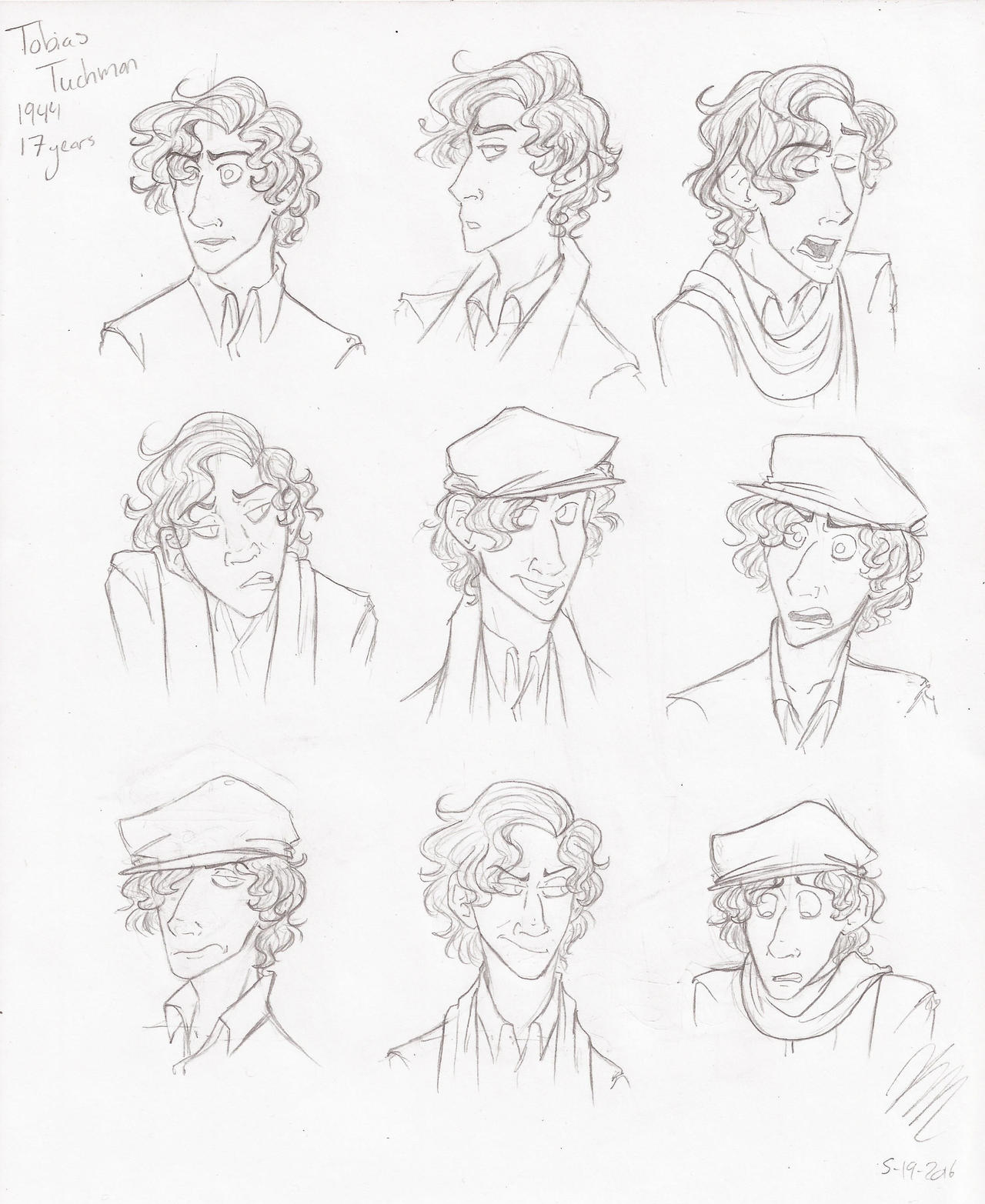 Expressions - Tobias by HugaDuck