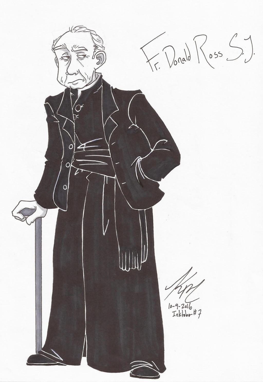 IT Fr. Donald Ross SJ by HugaDuck