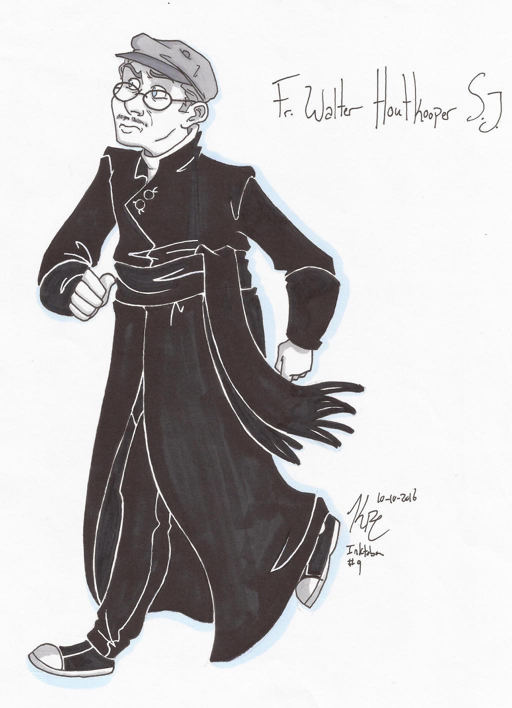 IT Fr. Walter Houtkooper SJ by HugaDuck