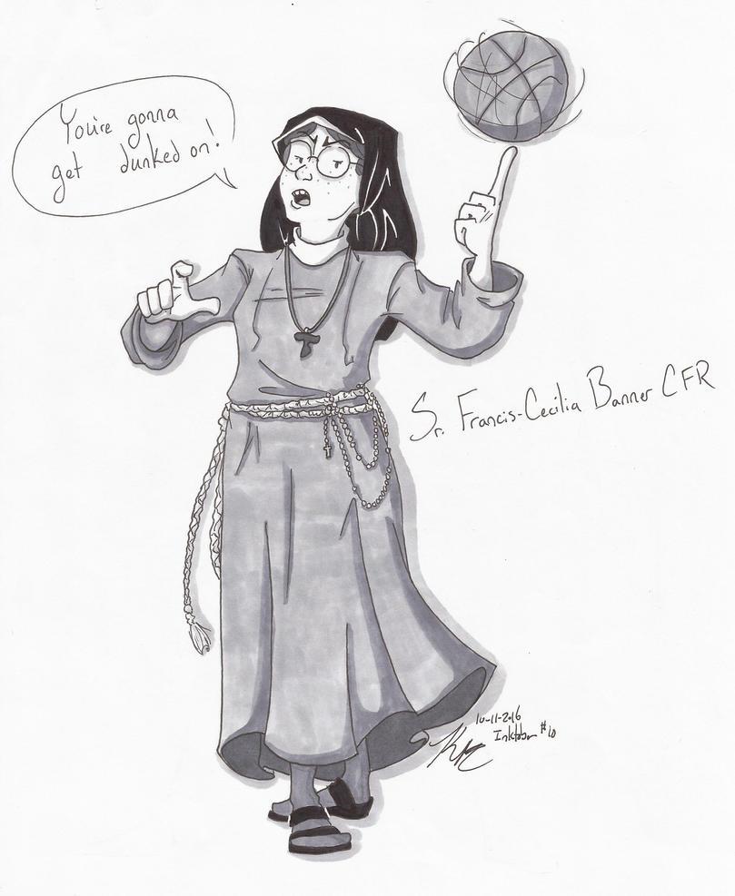 IT Sr. Francis Cecilia Banner CFR by HugaDuck