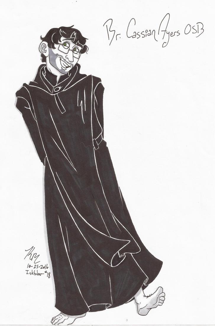 Br. Cassian Ayers by HugaDuck