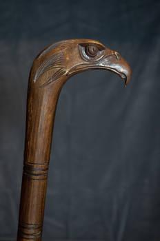 Eagle head cane