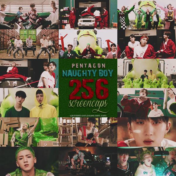 Screencaps PENTAGON MV - Naughty boy