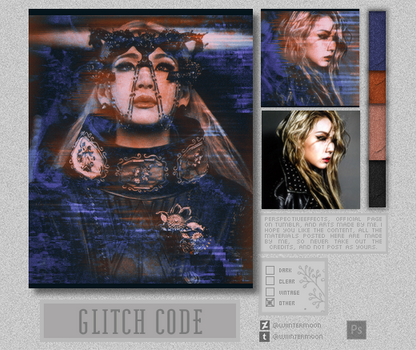 Glitch Code Effect (wiintermoon)