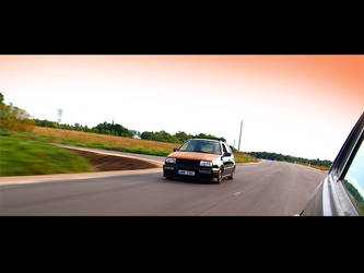 vw mk3 rolling by UibO