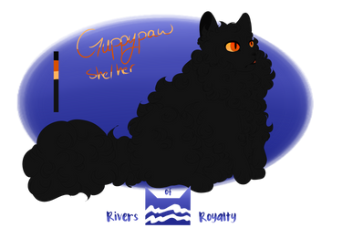 RoR | Guppypaw| RiverClan Apprentice by beetlesnappers
