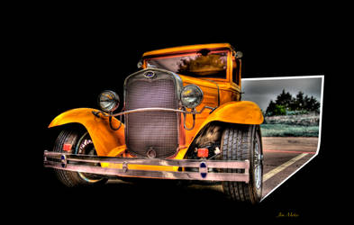 1934 Ford Coupe by MidagePhotographer
