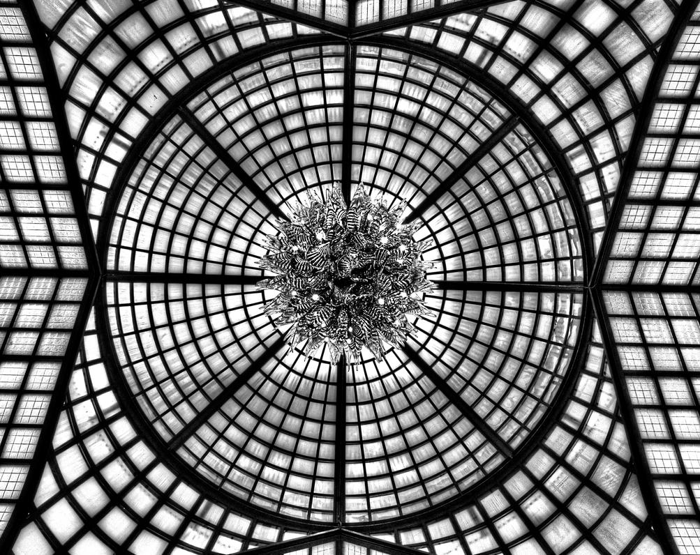 Ceiling At The Four Seasons In Budapest by jmotes